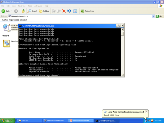 jasa instalasi jaringan merubah IP come menjadi otomatis