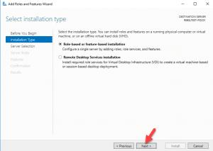 select instalasi type